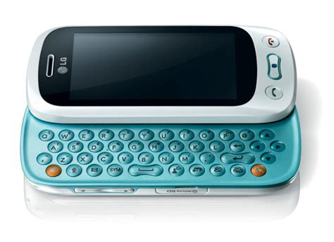 lg slide phone lg gt350 slider phone announced