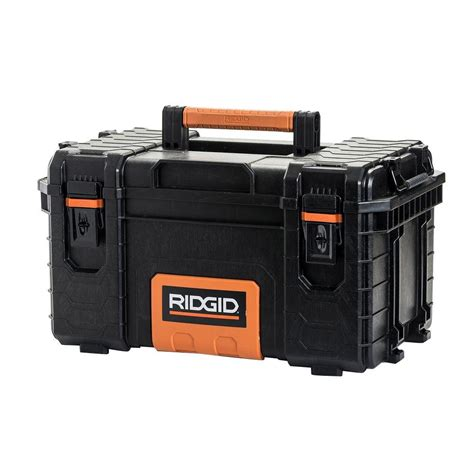 Home Depot Lighting Design by Ridgid 22 In Pro Tool Box Black 222570 The Home Depot