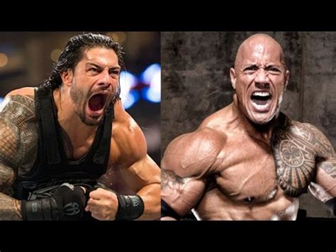 dwayne the rock johnson then and now roman reigns vs the rock then and now youtube