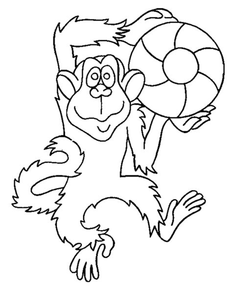 Monkey Coloring Pages Coloring Town Monkey Coloring Pages