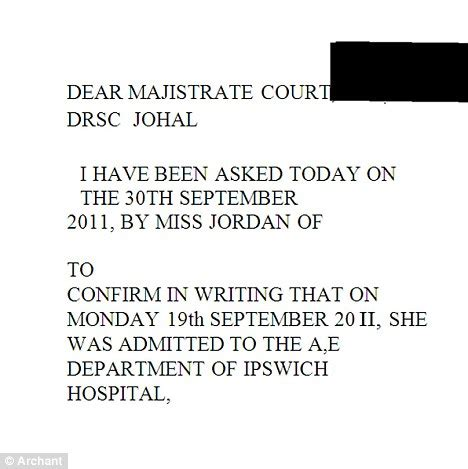 Excuse Letter For Not Attending Court Hearing Dear Majistrate Jailed After Giving Bogus Gp Letter