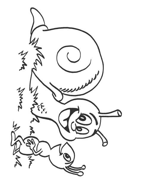 Coloring page : Escargot   Coloring.me