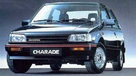 Rack End Daihatsu Charade G11 1984 1987 japanese car spotters guide 1984
