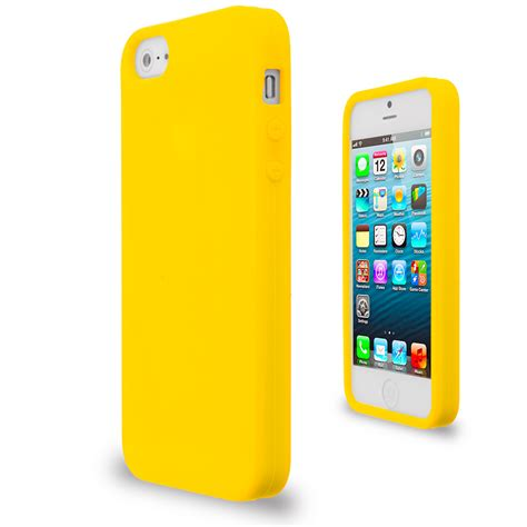 Softcase Color Iphone 5g Color Silicone Gel Rubber Soft Skin Cover Accessory