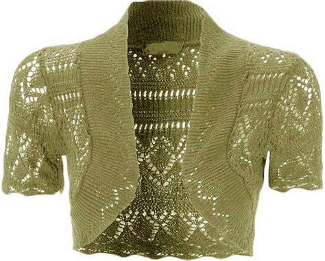 Cardigan Anak Sweater Kid Bolero 2 kid s crochet open sleeve knitted bolero cropped cardigan shrug age 2 14