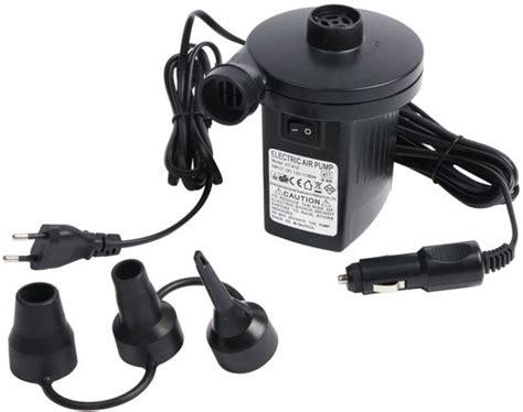 luchtbed compressor bol bo c elektrische luchtbedpomp 12 230 volt
