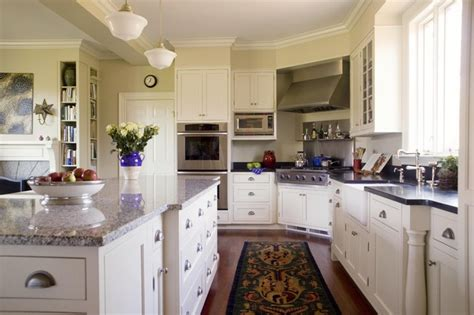white house family kitchen painted white farm house family kitchen traditional