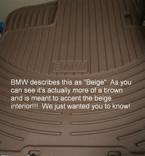 2006 Bmw 325i Floor Mats by 2006 Bmw 325 325i 325xi Oem Rubber Floor Mats Beige Parts