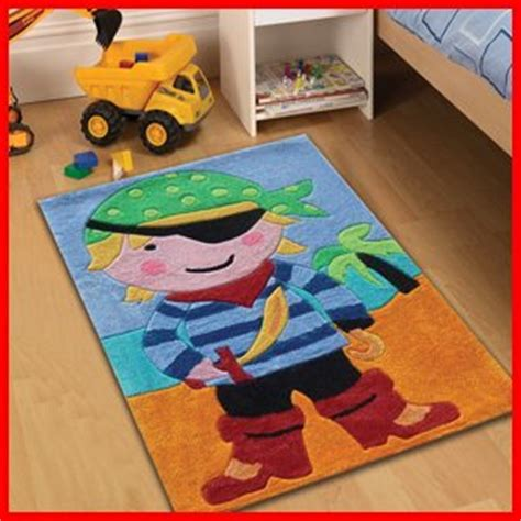 boys bedroom rugs childrens play pirate rugs 70 x 100cm perfect for any
