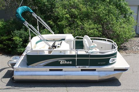 mini pontoon boats minnesota tahoe 14 fish 2014 for sale for 7 999 boats from usa