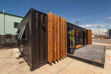 Glass Block Designs For Bathrooms by 40 Shipping Containers Converted Into A House