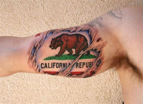 california bear tattoo designs california creativefan