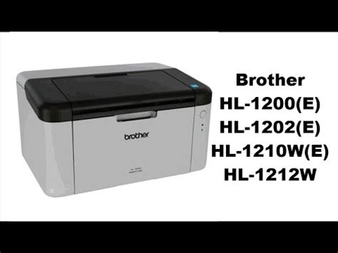 reset impressora brother hl 1110 brother hl 1210w wireless review unboxing doovi