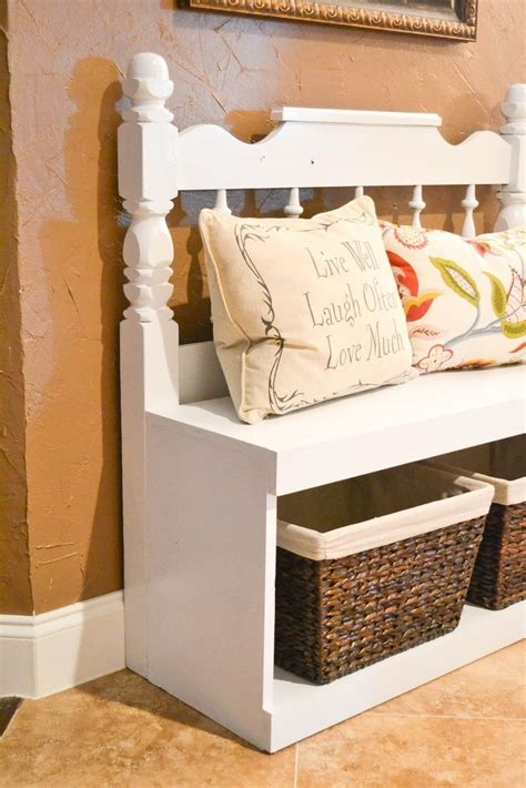 diy bench from headboard top 10 diy ideas for headboard bench