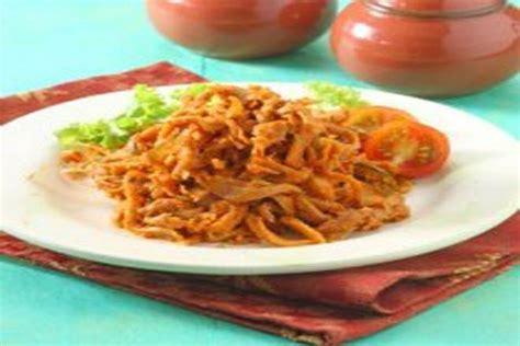 Payopali Rendang Jamur Tiram resep masakan sayur rendang jamur suwir