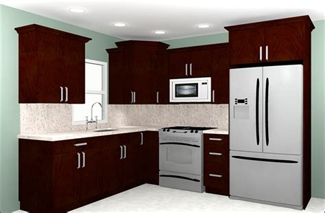 10 by 10 kitchen cabinets information