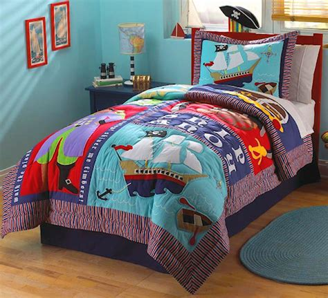 pirate bedding twin kids pirate ship bedding for little boys twin size 2pc