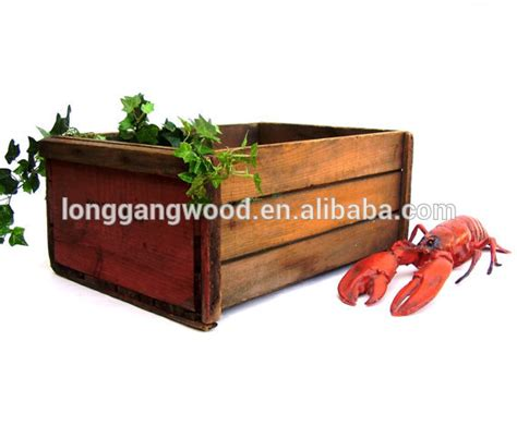 Buy Planter Box by Rectangular Planter Box Indoor Planter Boxes Wood Planter