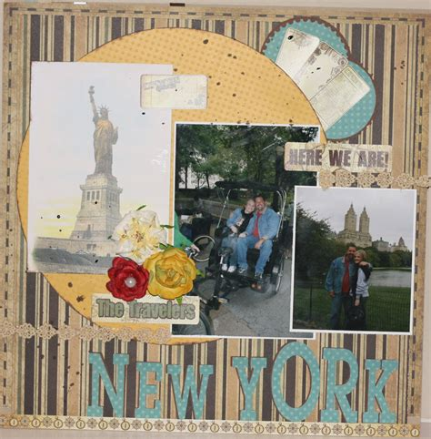 lg s scrapbook world my 2nd double page layout the crafty scrapper travel scrapbook layouts
