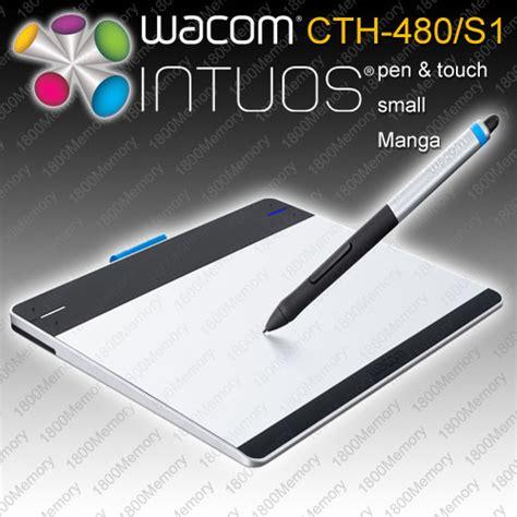 Wacom Cth 480 wacom intuos creative pen touch small tablet cth