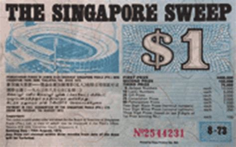 Singapore Sweepstakes - singapore sweep singapore pools 4d toto results online