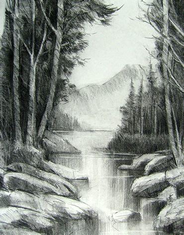 imagenes para dibujar a lapiz de paisajes 10 dibujos a l 225 piz de paisajes 4 dibujo pinterest