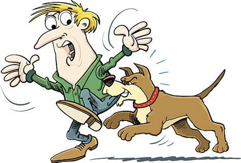 dog bite cartoon clip art dog bite clip art vector images illustrations istock