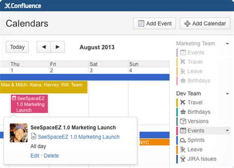 Confluence Calendar Team Calendars F 252 R Confluence Atlassian