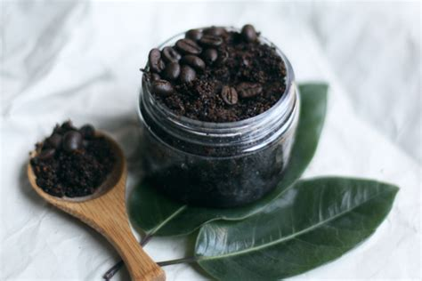 Coffee Scrub diy coffee scrub