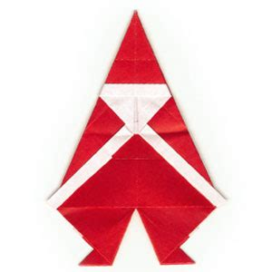 Simple Origami Santa Claus - how to make a simple origami santa claus page 14