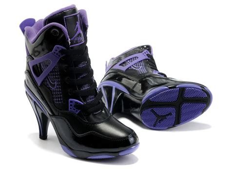 black and purple high heels where buy original air 4 high heels shoes for cheap