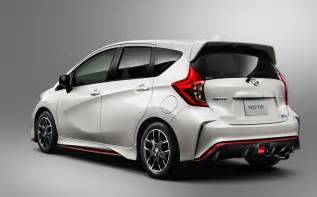 Nissan Makes Nissan Note Nismo Makes Compact Slashgear