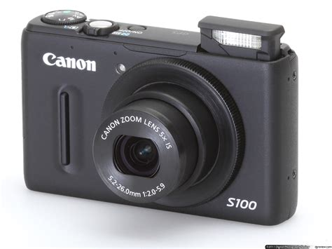 canon powershot s100 review digital photography review - Camara Canon S100