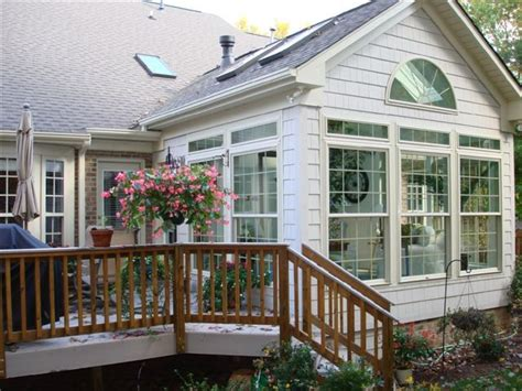 Year Round Sunroom Convert Your Deck To A Porch Or Screened Porch To A
