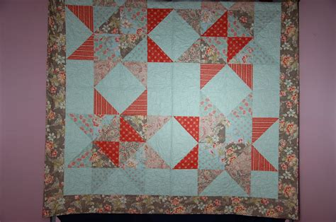 Wool Quilt Reviews by Gabbi Abbi May Fabric Pattern Review Cakes