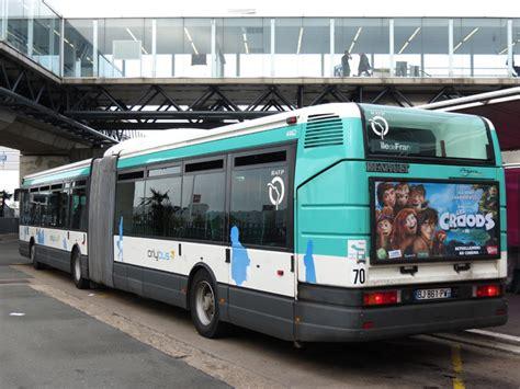 trans phototh 232 que autobus irisbus agora l ratp