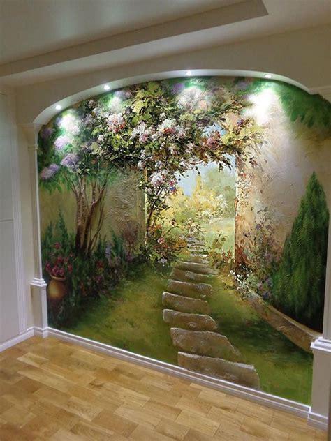 aprende  pintar murales en las paredes  transforma tu hogar en  espacio unico mil ideas de