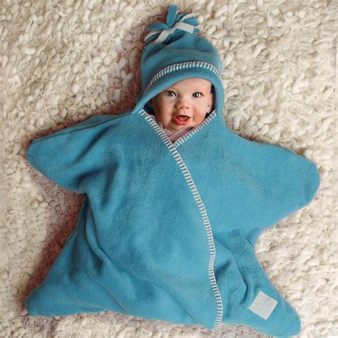 and baby fleece baby wrap by tuppence and crumble notonthehighstreet