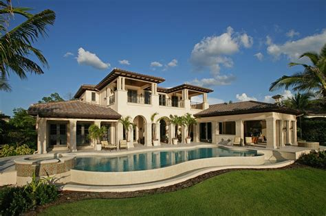 florida mediterranean homes traditional in the estuary harwick homes