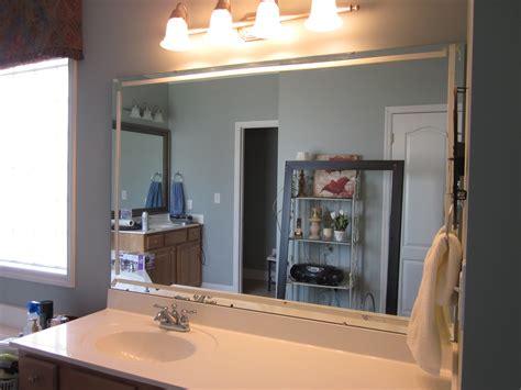 frame existing bathroom mirror how to frame existing bathroom mirrors lyn at home