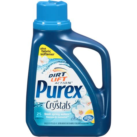 upc 024200060220 purex plus fabric softener with crystals fragrance laundry detergent 50