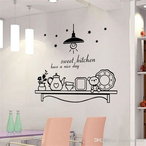 a day wall mural sweet kitchen a day wall sticker decoration wall