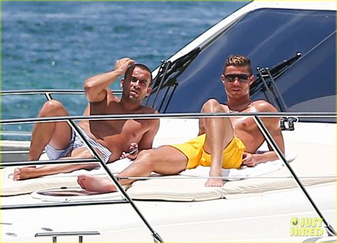 yacht boat ride miami full sized photo of cristiano ronaldo shirtless yacht ride