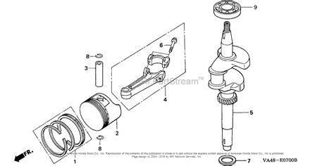 vd 215 fan blade honda hrc215 pxa lawn mower usa vin mzau 6000001 to