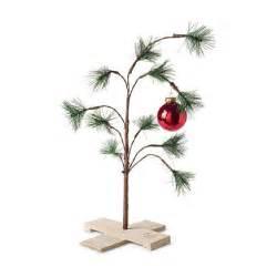 sears the original charlie brown christmas tree for 10