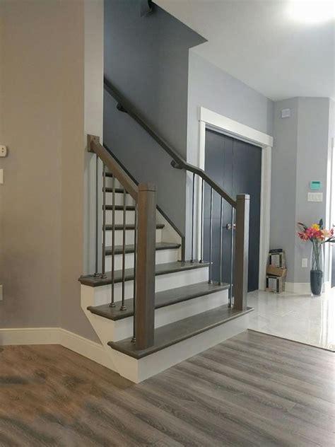 Stair Rail Profiles Modern Profile Rail And Newel Posts Scotia Stairs Ltd
