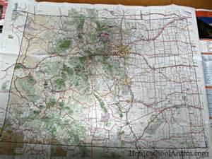 map of colorado mountain peaks unit study colorado the rocky mountains