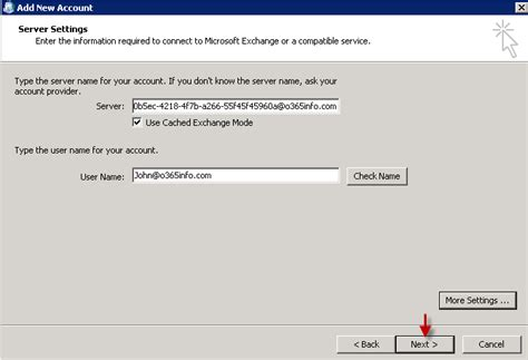 Office 365 Outlook Proxy Settings How To Manually Configure Outlook Office 365 O365info