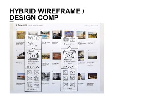 hybrid layout ppt hybrid wireframe design comp