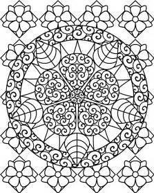 printable abstract coloring pages free printable abstract coloring pages for